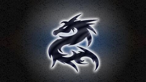 dragon logo wallpaper wallpapersafari