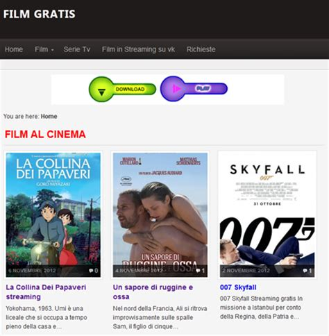 streaming film filosofi kopi gratis film gratis tv un nuovo sito per lo streaming e il