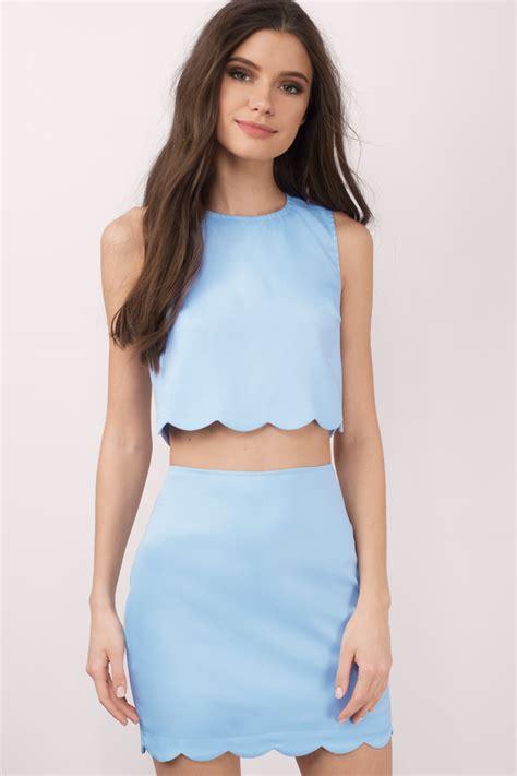 Dress Set two dresses crop top and skirt set 2 dress