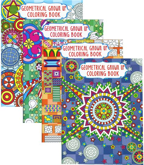 coloring books for adults wholesale wholesale geometrical coloring book for adults sku