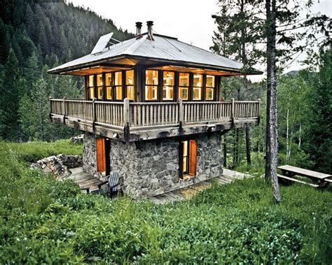 fire tower house the fire tower cabin in montana this tiny home was built to resemble a fire tower and is