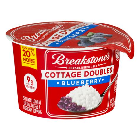 breakstone s cottage cheese doubles blueberry 100 calories