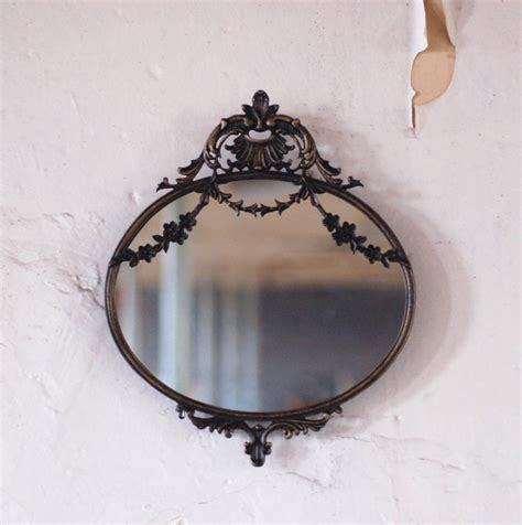 antique style small decorative mirror by made with designs ltd notonthehighstreet