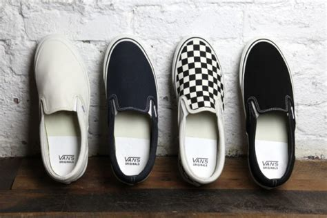 Sepatu Vans Slip On Checkerboard Black Silver Premium Bnib Md In China vans vault classic slip on lx og pack now available