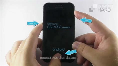 reset samsung xcover 2 how to hard reset samsung galaxy xcover 3 youtube