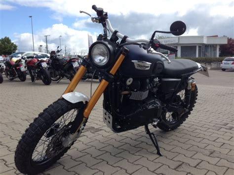 Motorrad Verkaufen Erfurt by Umgebautes Motorrad Triumph Scrambler Von St 228 Rker Profil