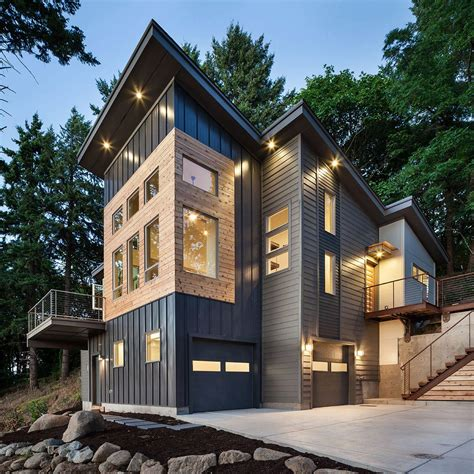 Home Design Eugene Oregon | modern home in eugene oregon by jordan iverson signature