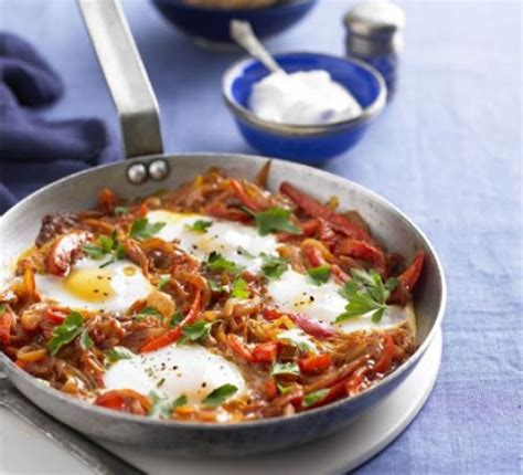 Ottoman Recipes turkish one pan eggs peppers menemen recipe food