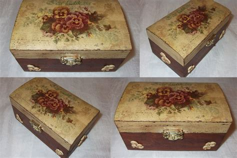 Decoupage Boxes - decoupage box 8 by pinterzsu on deviantart