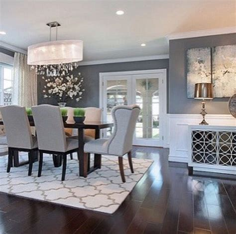 Gray Dining Room Ideas Dining Room Decor Gray Gen4congress