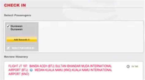 batik air check in online cara dan proses web check in online batik air terbaru
