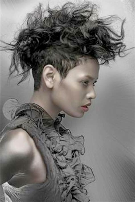 black women grey fro hawk curly mohawk hairstyles long hair hairstyles ideas