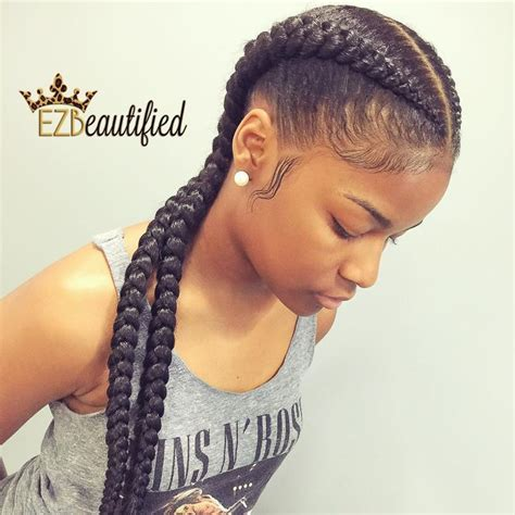 hair colors for box goddess braids 25 best ideas about 2 goddess braids on pinterest