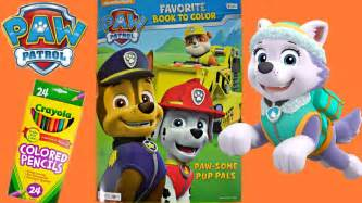 free coloring pages paw patrol colored