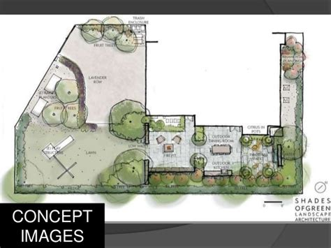 Blueprint House Plans by Landscape Architecture Drawings Presentation