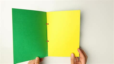 How To Make A Book With Construction Paper - 3 ways to make a paper book wikihow