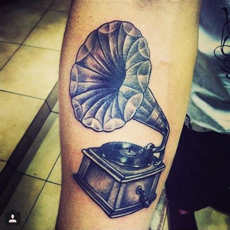 phonograph tattoo best tats pictures ideas