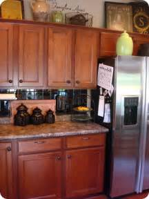 Ideas For Top Of Kitchen Cabinets Decorating Ideas For The Top Of Kitchen Cabinets Pictures