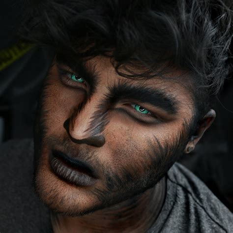werewolf makeup tutorial male macabre makeup alex faction s creepiest halloween looks