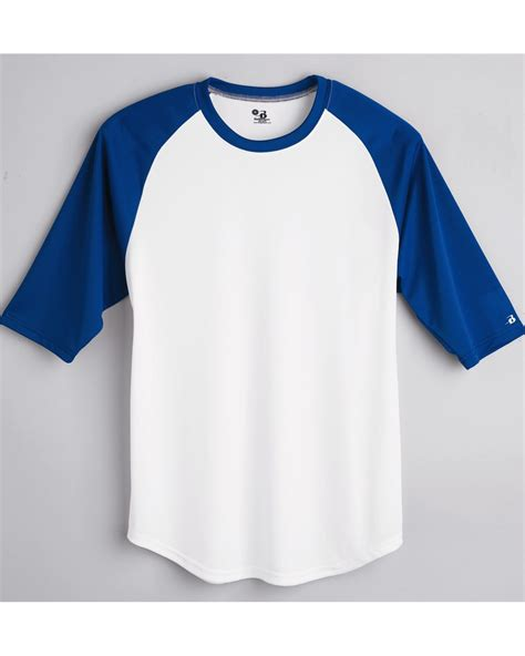 T Shirt Kaos 3d Cell Raglan Abu Navy saapni badger b youth 3 4 sleeve baseball t shirt 2133