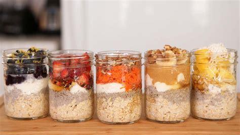 overnight oatmeal 5 delicious ways youtube