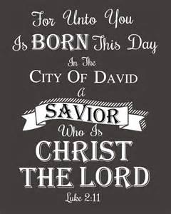Christmas bible verse printable luke 2 11 the well nourished nest