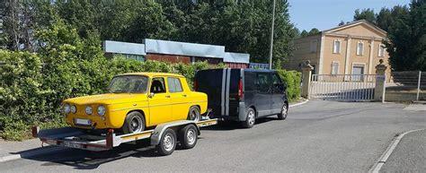 transport porte voiture transport de v 233 hicule de collection sur remorque porte voiture