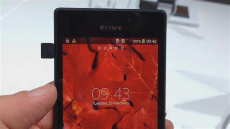 Barcelona Sony Xperia M2 probando el sony xperia m2 en barcelona