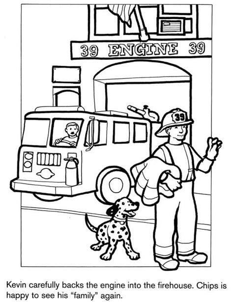 firefighter coloring pages kindergarten firefighter coloring page kids coloring activity pages