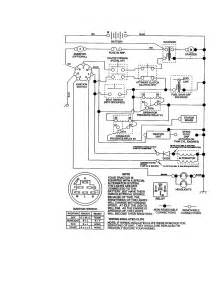wiring diagram parts list for model 917271011 craftsman parts mower tractor parts