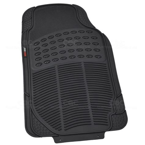 Rubber Mat Smell by Black 3 Pc Rubber Floor Mats For Car Suv Zero Odor Motor