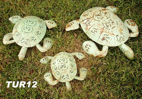 Handmade Turtle - medium 18 quot handmade rustic turtle