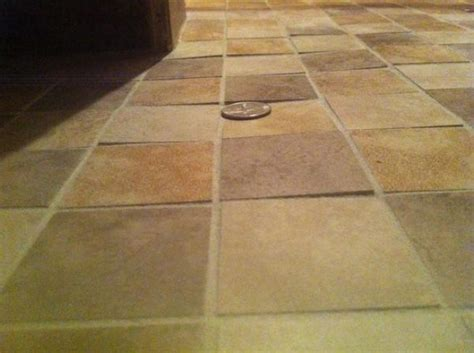 Uneven Floors are uneven floor tiles fixable