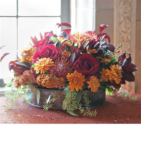 Fall Wedding Flower Centerpieces by The Modest This Site Is The Cat S Pajamas