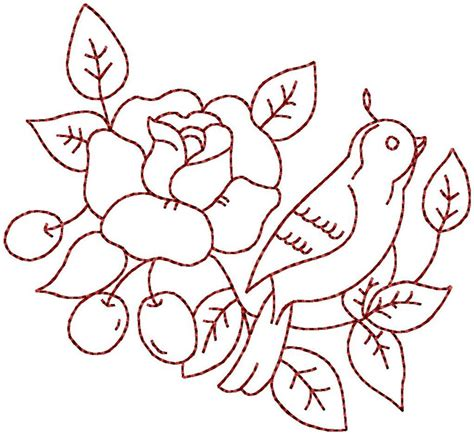 embroidery pattern name birds flowers 8 hand embroidery pattern by stitchx 2 craftsy