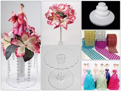 diy 18 quot flowers and polyresin figurine centerpiece
