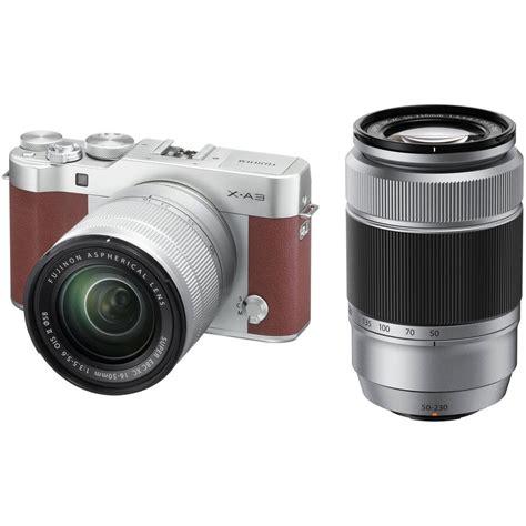 fuji mirrorless fujifilm x a3 mirrorless digital with 16 50mm and b h