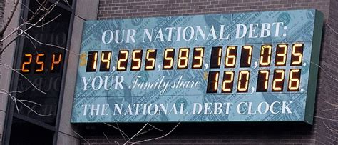 us national debt clock names for large numbers chalkdust