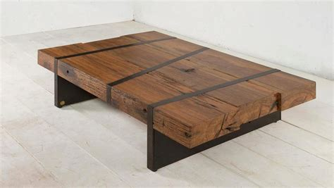 designer table sustainable digby beam table design by aellon new york