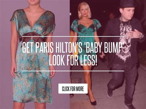 Get Hiltons Baby Bump Look For Less by Get S Baby Bump Look For Less