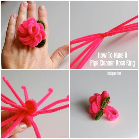 make clean how to make a pipe cleaner ring