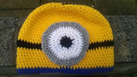 Free Crochet Pattern Minion Hat