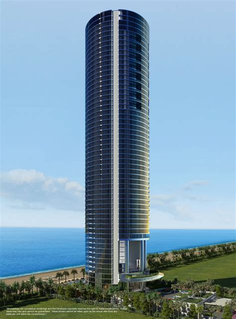 building designer miami porsche design tower 195m 641ft 57 fl