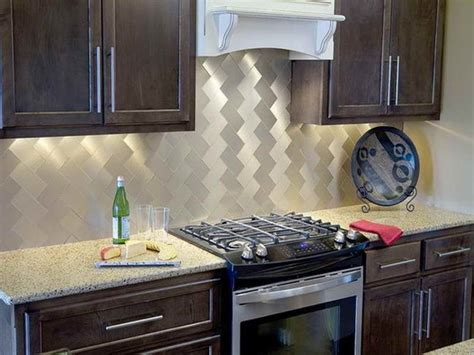 aluminum backsplash kitchen 2018 six kitchen backsplash ideas for 2018 city tile murfreesboro