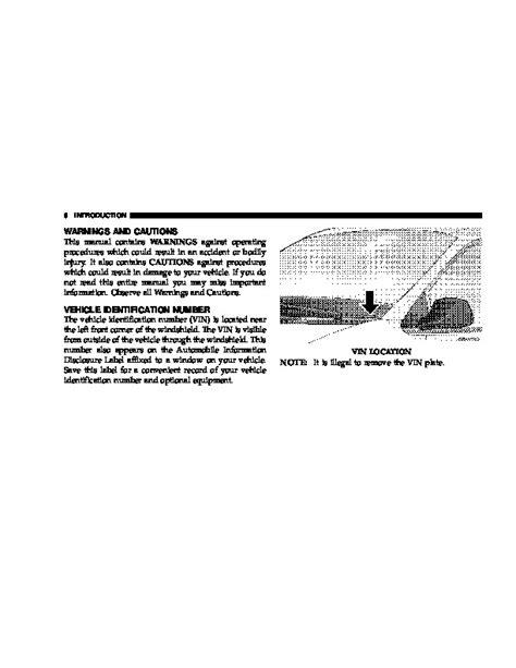2006 Chrysler 300 Owners Manual by 2006 Chrysler 300 Owners Manual