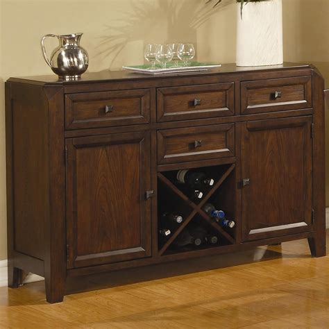 Buffet Table by Coaster Lenox 102165 Brown Wood Buffet Table In Los Angeles Ca