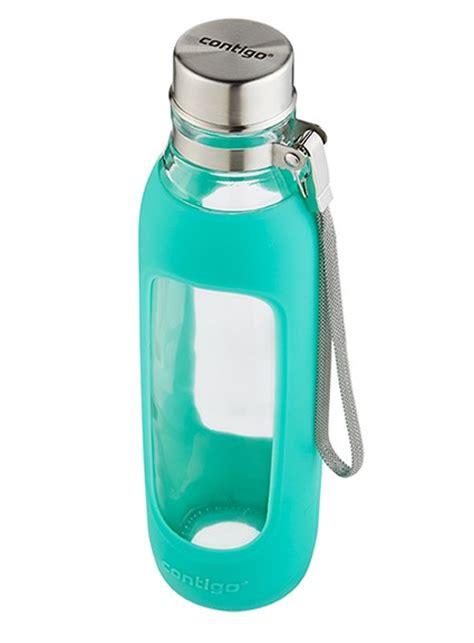 Glass Water Bottle purity bpa free reusable glass water bottle 20oz