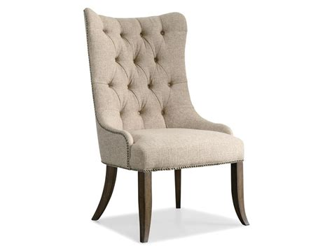 tufted dining room chairs hooker furniture dining room rhapsody tufted dining chair