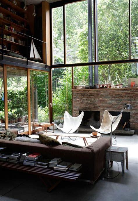 stylish  inspiring industrial living room designs