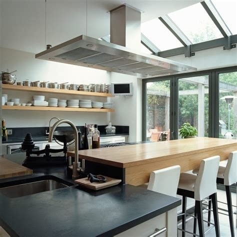 Kitchen Diner Extension Ideas Modern Bistro Style Kitchen Extension Kitchen Extensions Housetohome Co Uk